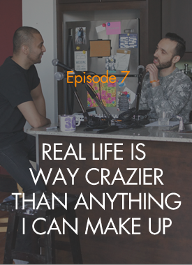 We've received a lot of questions about our hosts recently. Who are they? Why do they do this podcast? Why are their names so hard to pronounce? This week, Amar and Gilad bare their souls... to each other.  [Episode 7 Transcript]