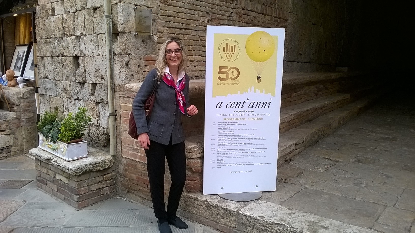 Our Sales Manager, Susanna Santini