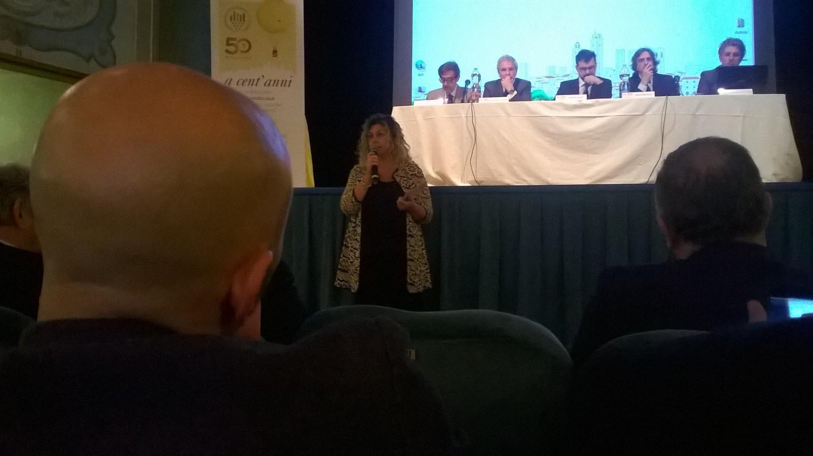 Letizia Cesani, President of the Consortium