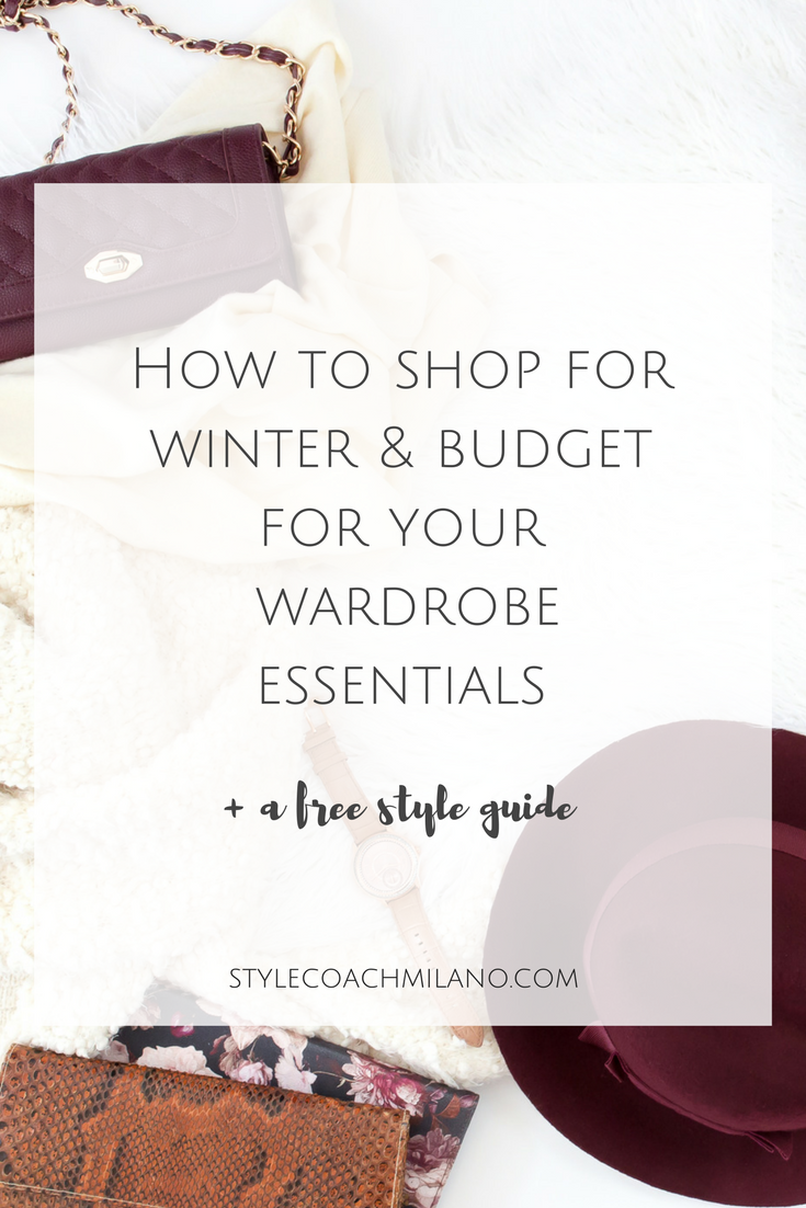 Are you ready to shop for winter? Veronika Nemeth