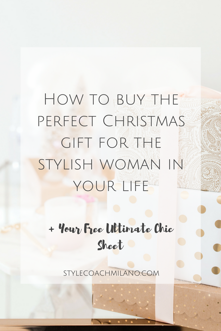 The Stylish Woman's Gift Buying Guide