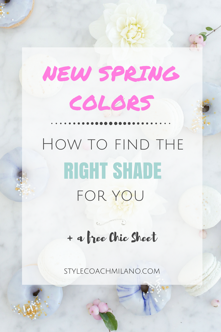 New Spring Colors – How to find the right shade for you!