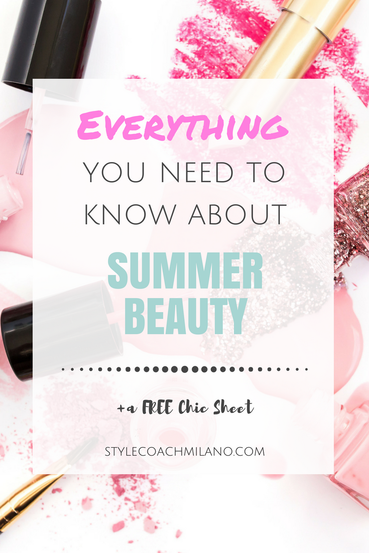 YOUR ULTIMATE GUIDE TO SUMMER BEAUTY
