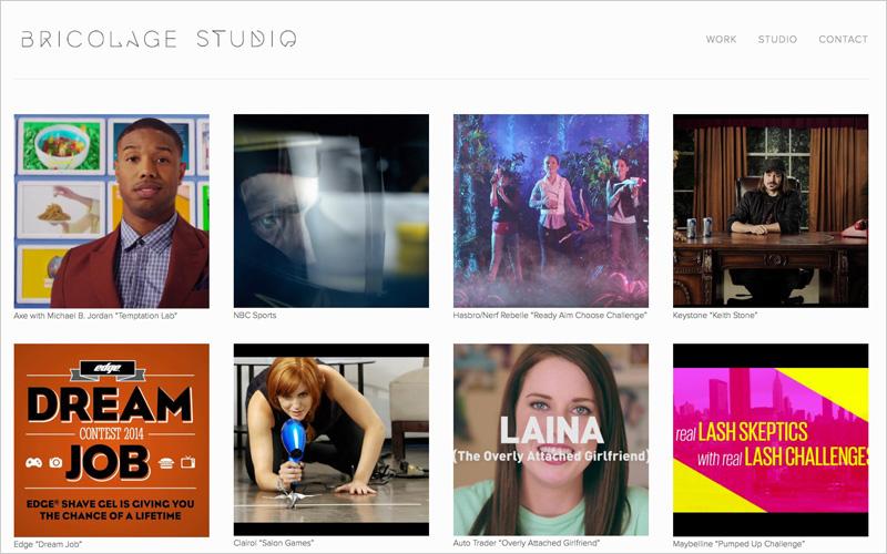 CLIENT Bricolage Studio  PROJECT Design Portfolio Website  SERVICES Web Design & Development
