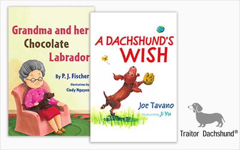 CLIENT Traitor Dachshund, Book Publisher   PROJECT Children's Books   SERVICES Production Design, Prepress