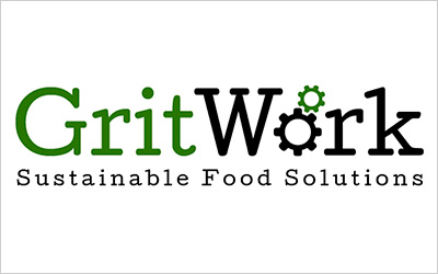 CLIENT GritWork, Sustainable Solutions   PROJECT Logo Design   SERVICES Branding, Identity, Creative Direction