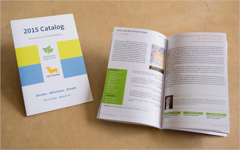 CLIENT Minted Prose, Book Publisher   PROJECT Catalog  SERVICES Production Design, Prepress, Copy Editing