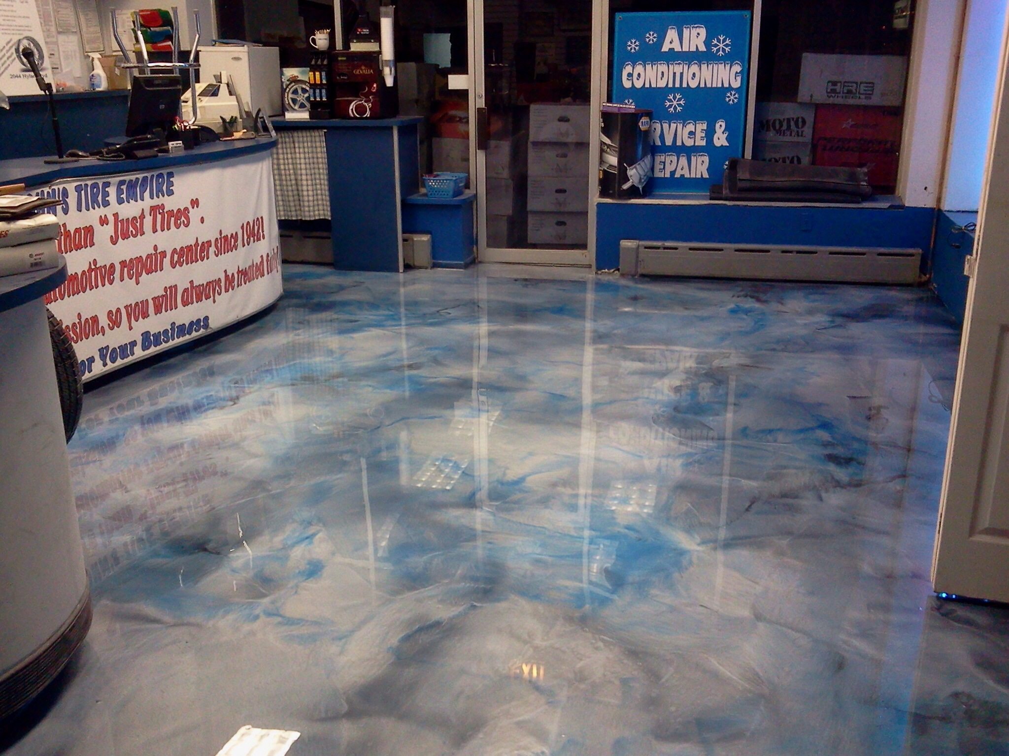 Metallic Epoxy Floors Systems