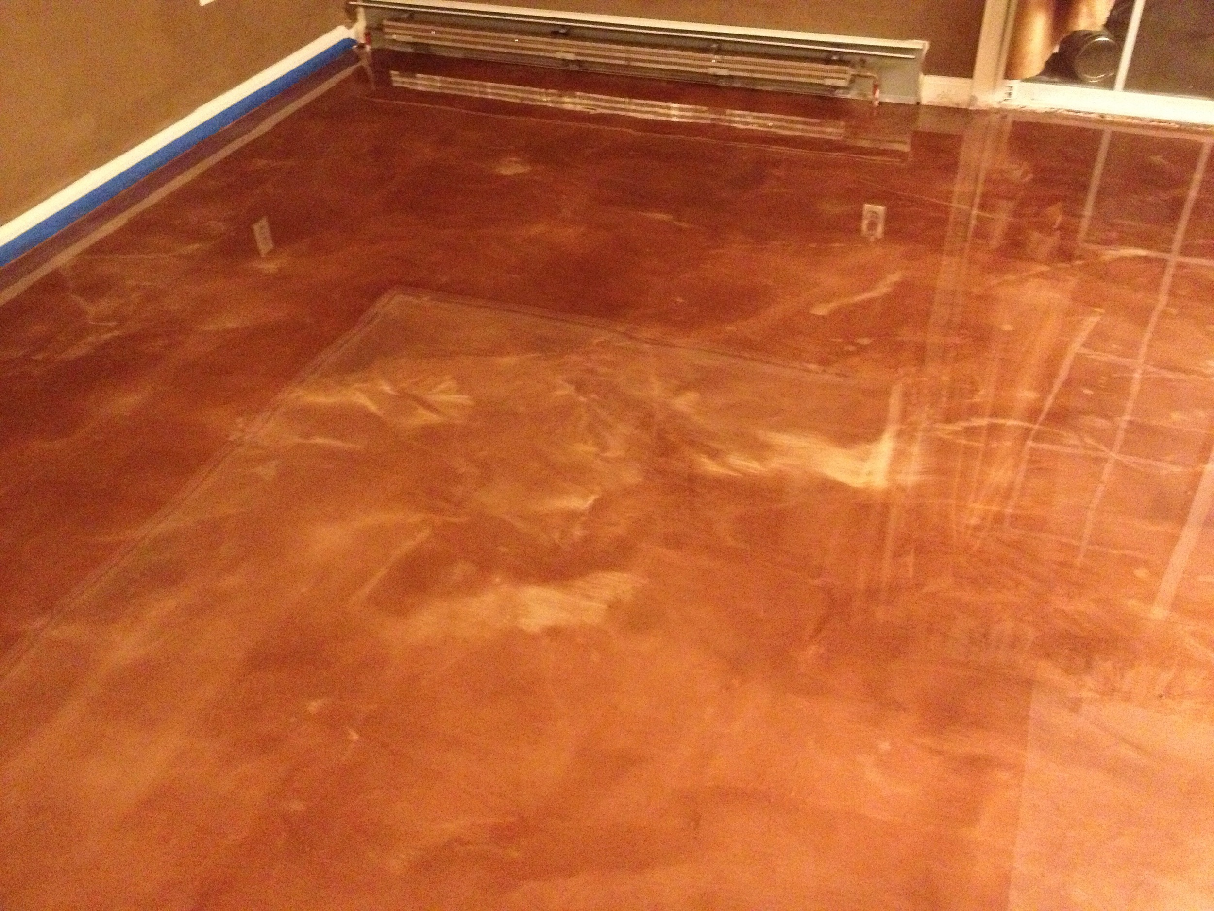 Garage Metallic Epoxy Floors