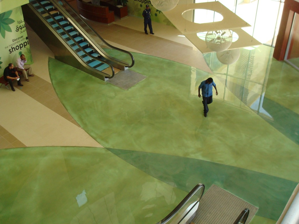 Amazing Metallic Epoxy Floors