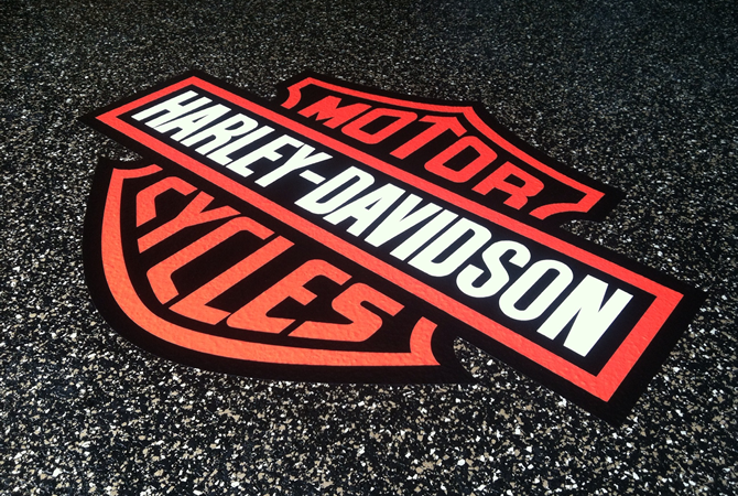 Harley Davidson Floor