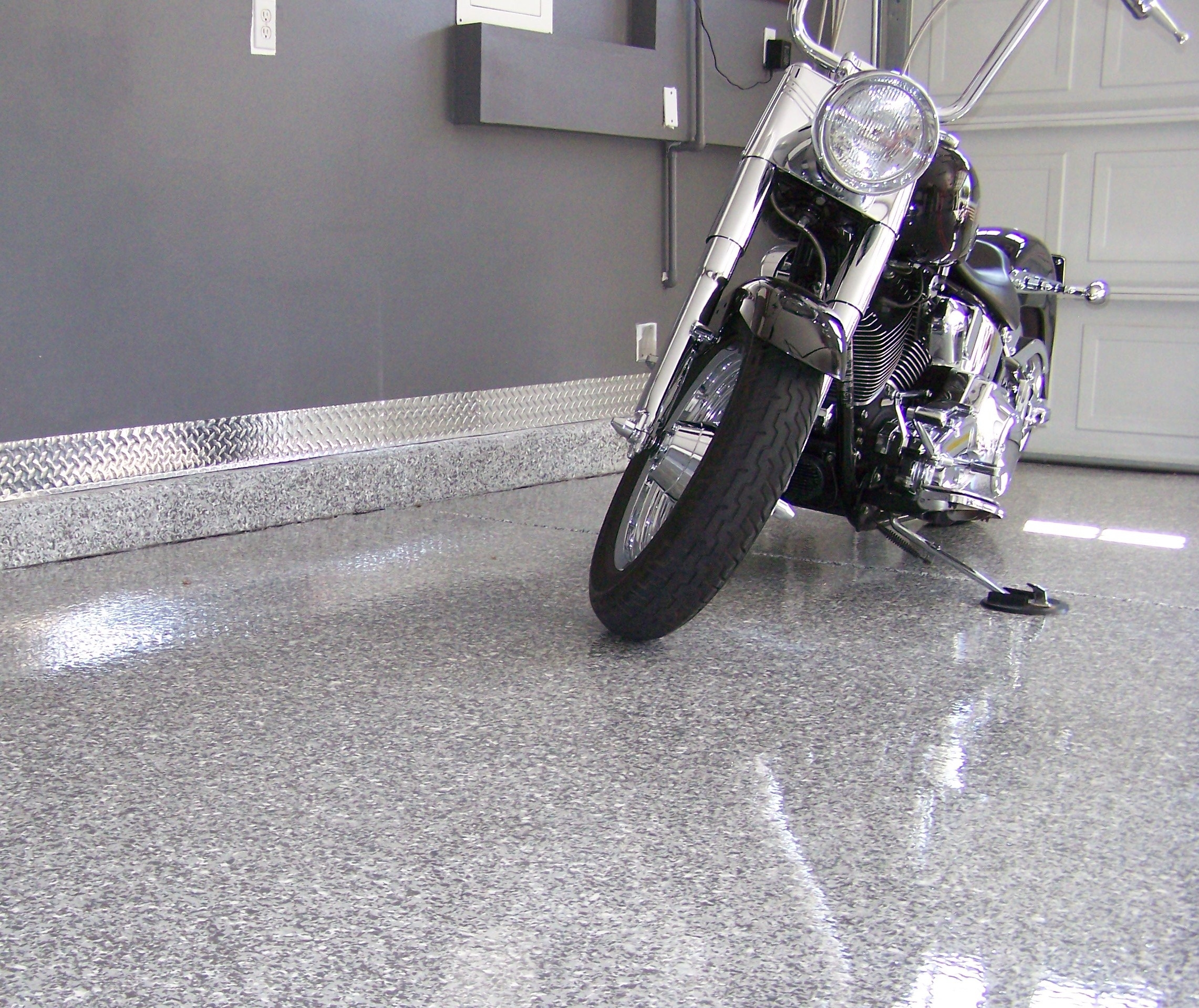 Decorative Garage Floor Coating