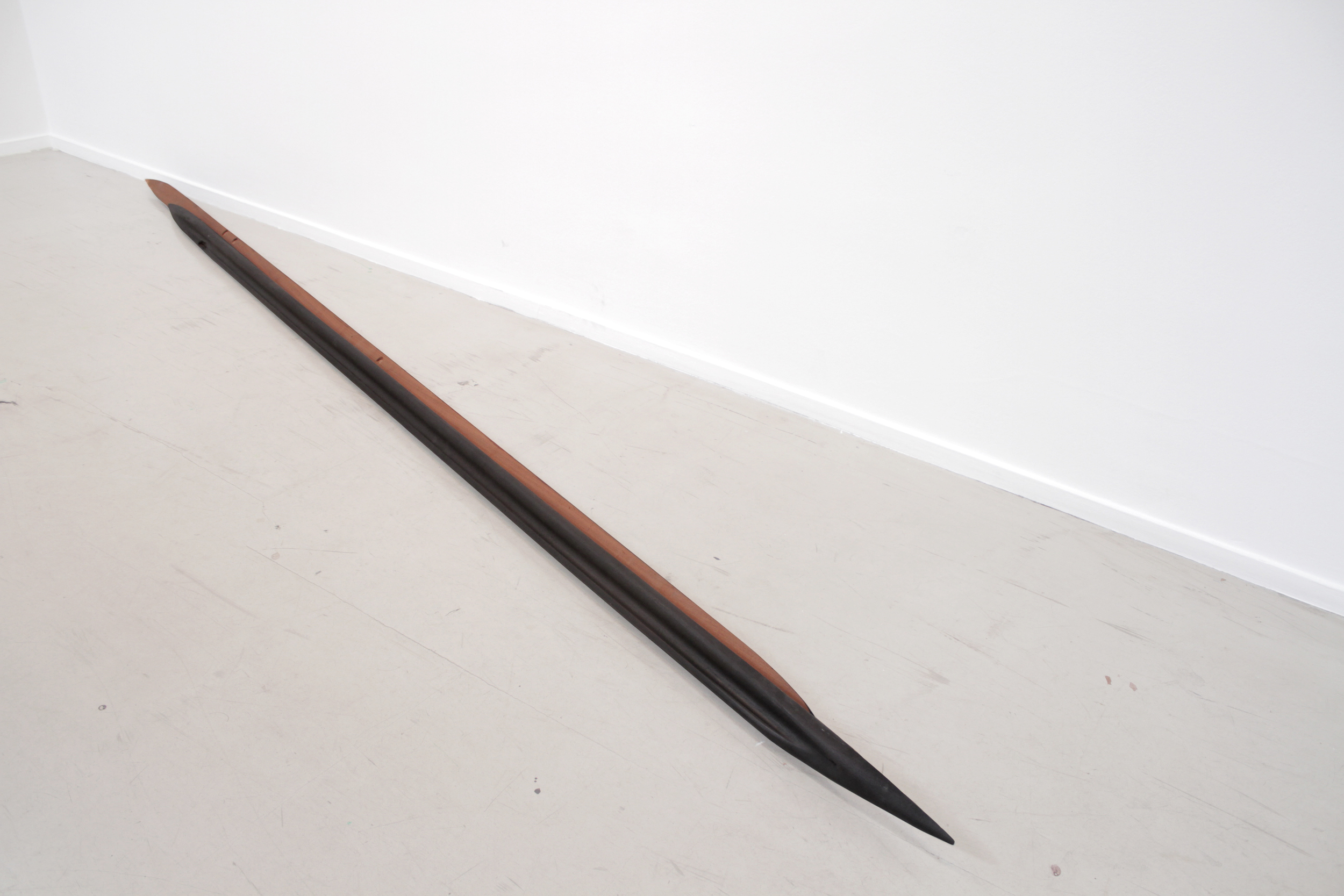 Untitled, 2014 Reconstructed wooden handrails
