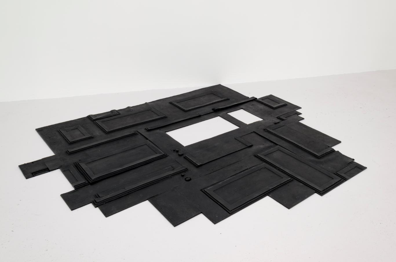 Untitled 2014, Cast polyurethane rubber