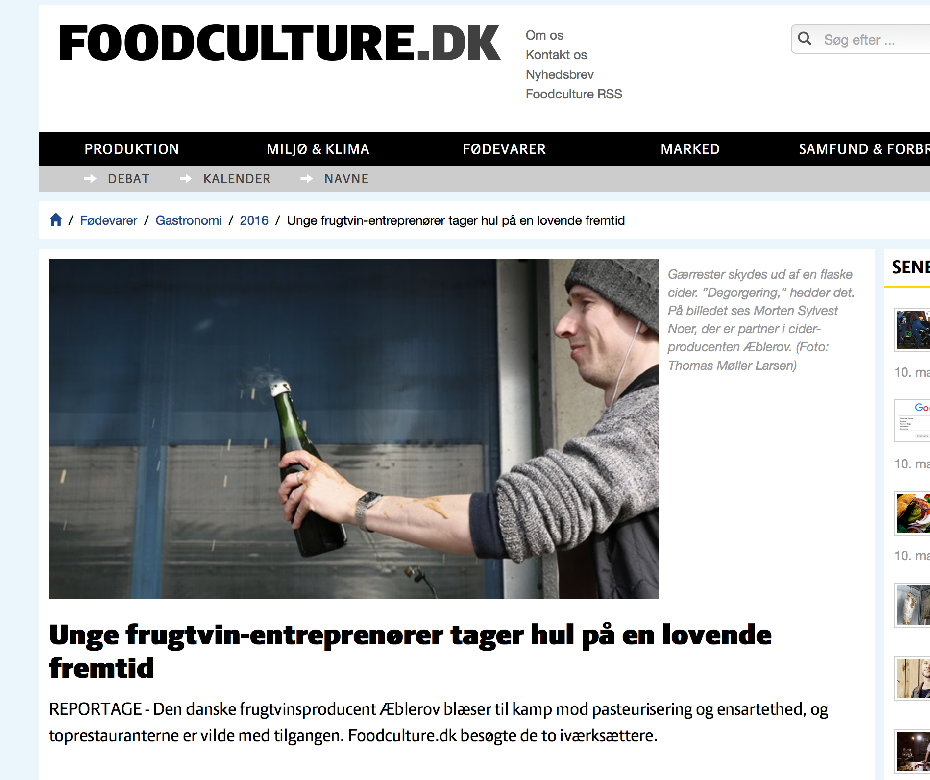 Foodculture 1/3 2016