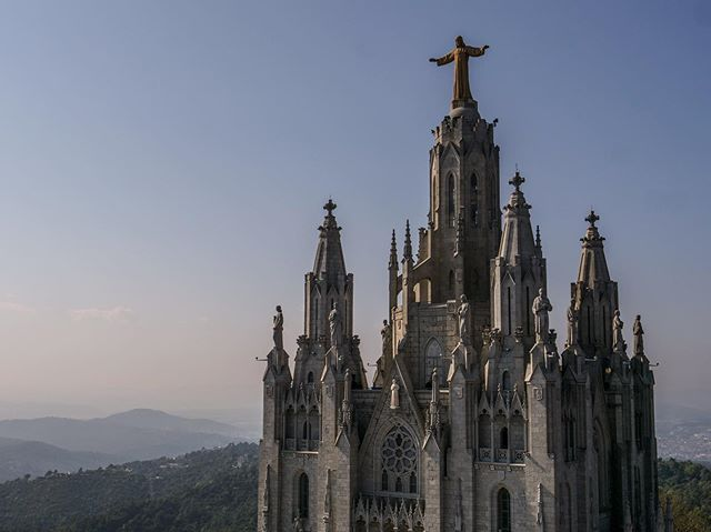 Temple of the Sacred Heart of Jesus, Cumbre del Tibidabo #barcelona #tibidabo #church