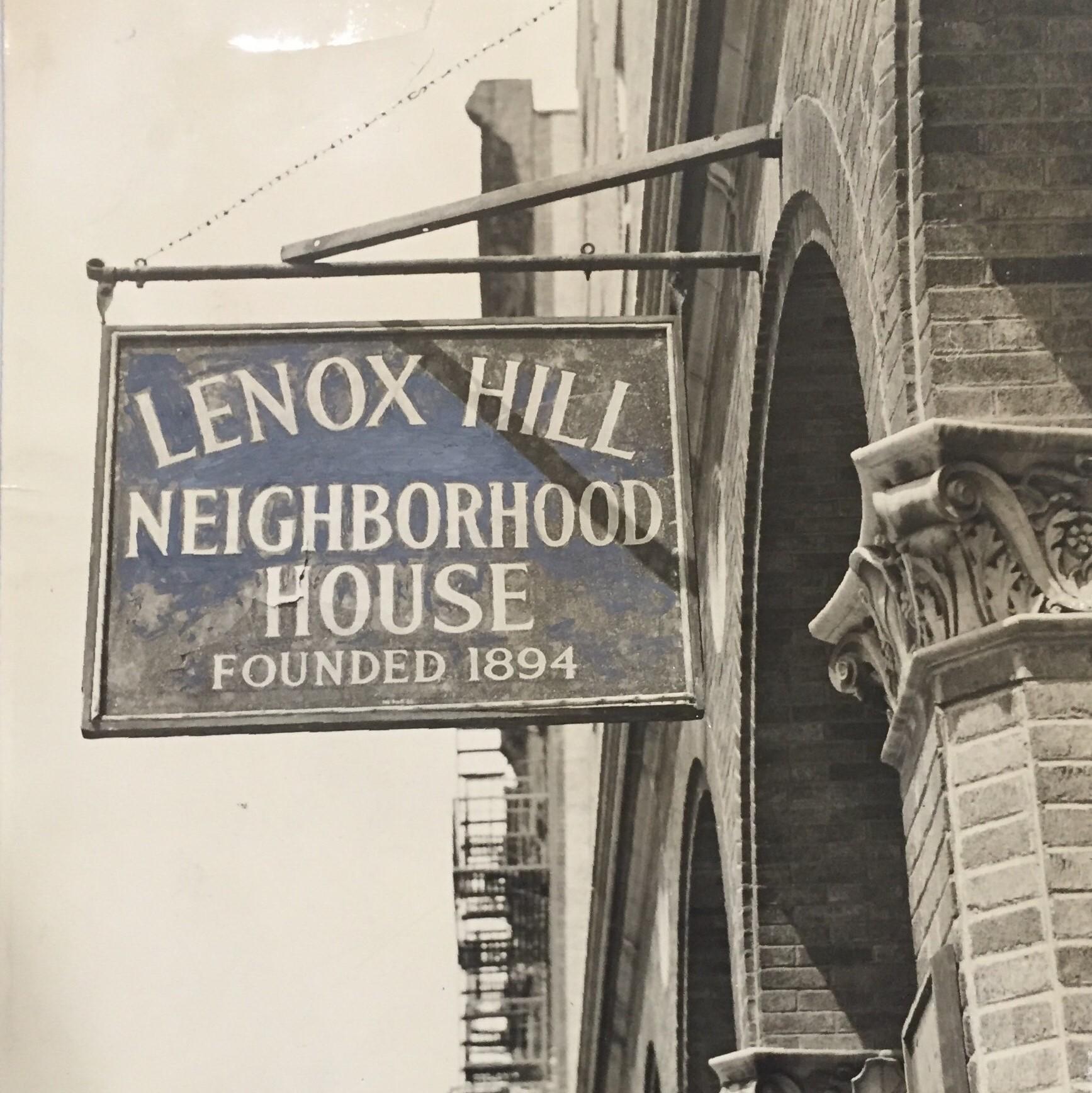 1966 Lenox Hill Neighborhood House Sign at 331 E 70th.jpg