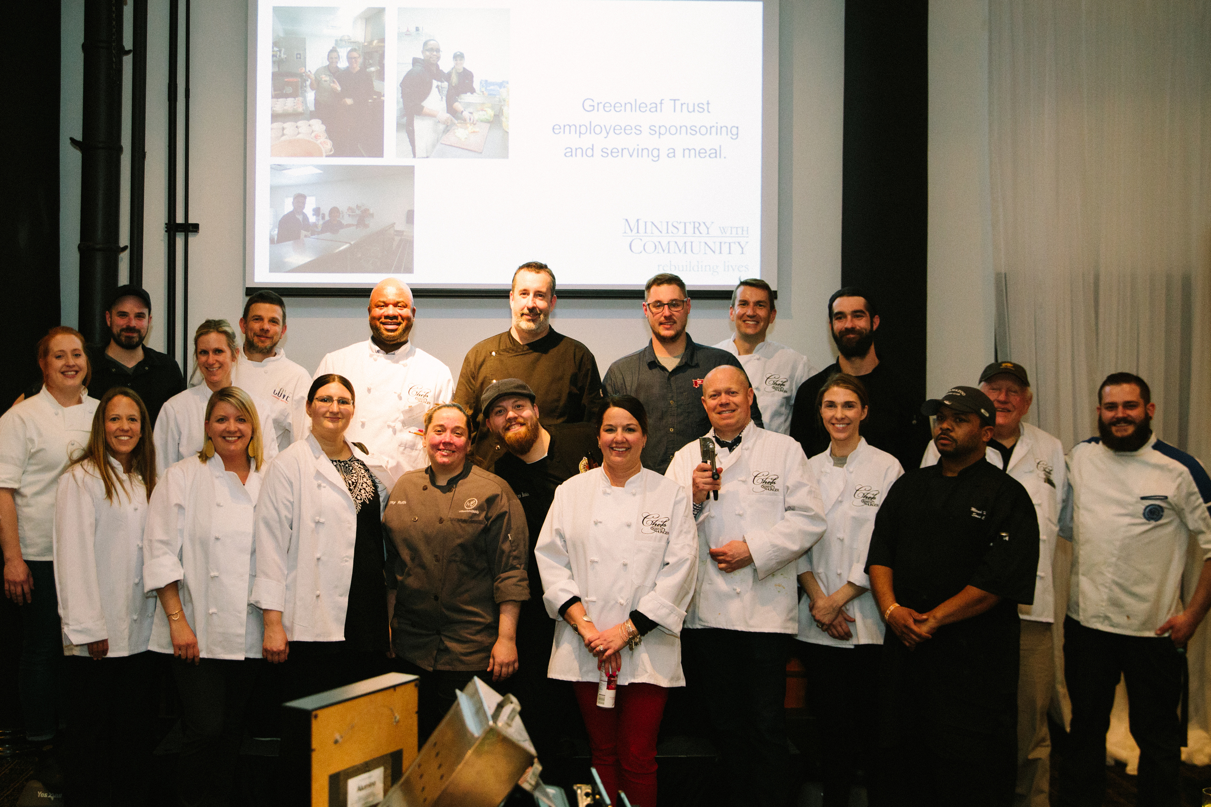 Thank you to all of our Chefs and Sous-chefs!