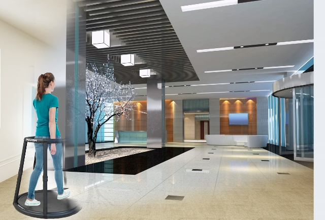 Wizdish ROVR used for architectural walk-throughs