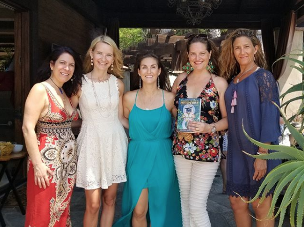 "Prosperity Activation Circle and Book Signing in San Diego, CA. ""Pioneering the Path to Prosperity"" featuring authors, Rima Bonario, Tanya Lynn, Publisher Jane Ashley, and Dana Damara."