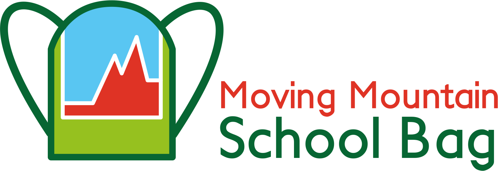 Tarja Petrell's Moving Mountain School Bag logo