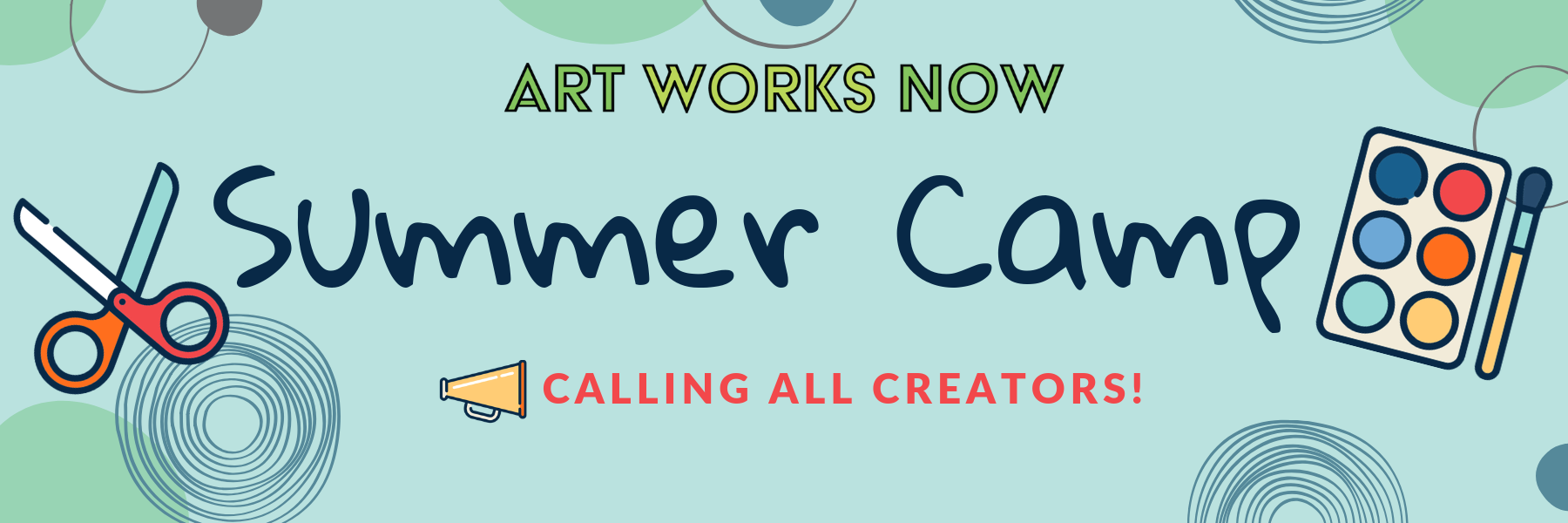 Summer Camp 2019 — Art Works Now