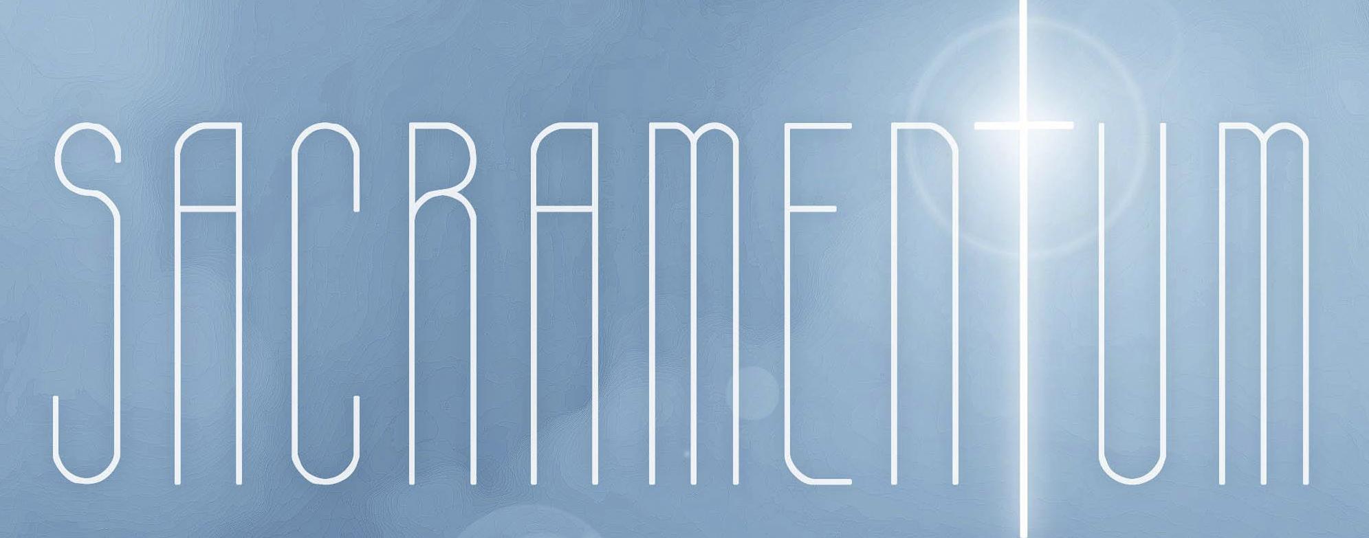 Sacramentum [2015 -Arte do CD]