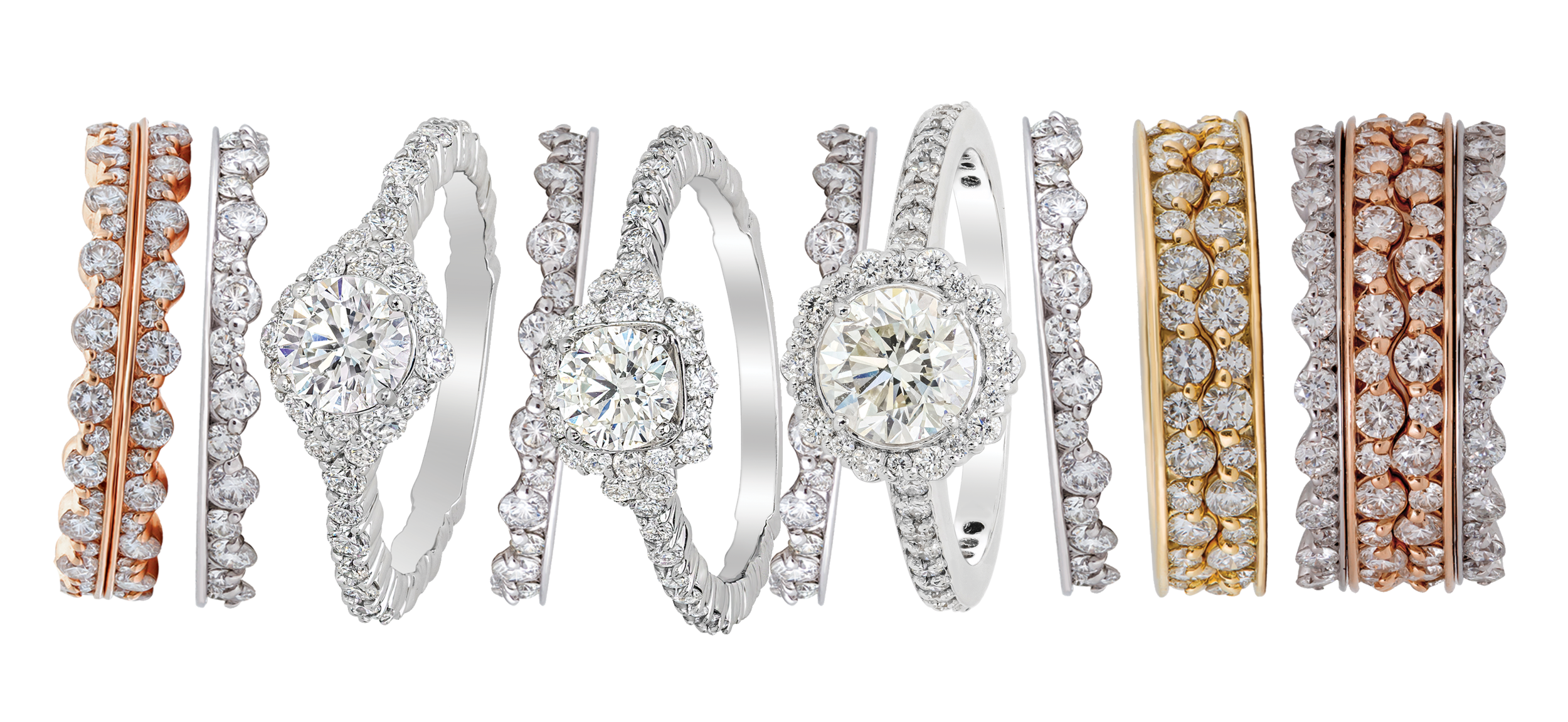 Integré Diamond Jewellery - Award-Winning Designs by Ron Rizzo for Pluczenik