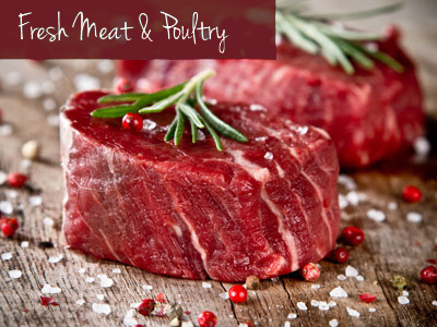 We provide a complete, old-fashioned, full service meat counter that is fully staffed with friendly professionals eager to ensure that you are satisfied.