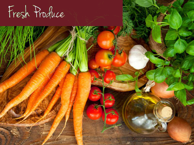 Our produce comes from Connecticut Grown Farmers who have had great reputations for years, offering only the finest and highest quality fruits and vegetables.