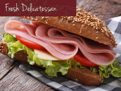 Our nationally recognized full-service deli carries a variety of quality products including natural, nitrate/nitrite free and gluten free items. Hungry? Grab one of our famous HPM sandwiches.