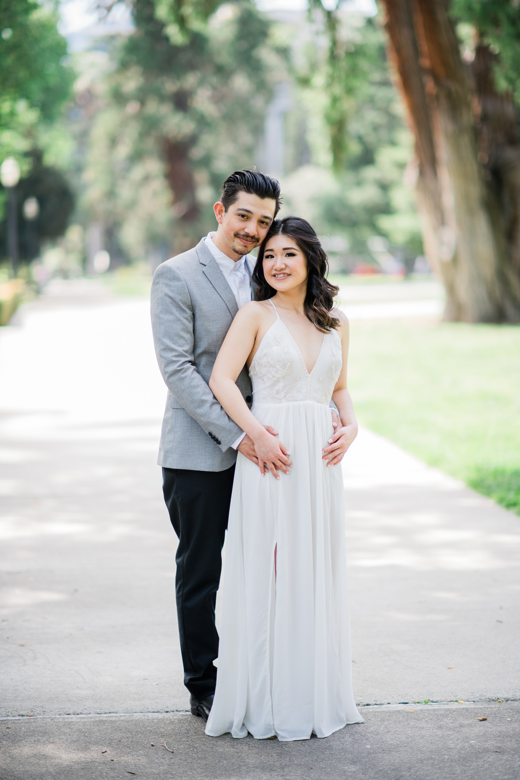 EngagementsLinda + Juan - Linda & Juan's Beautiful engagement session around Sacramento! Click below to see more!