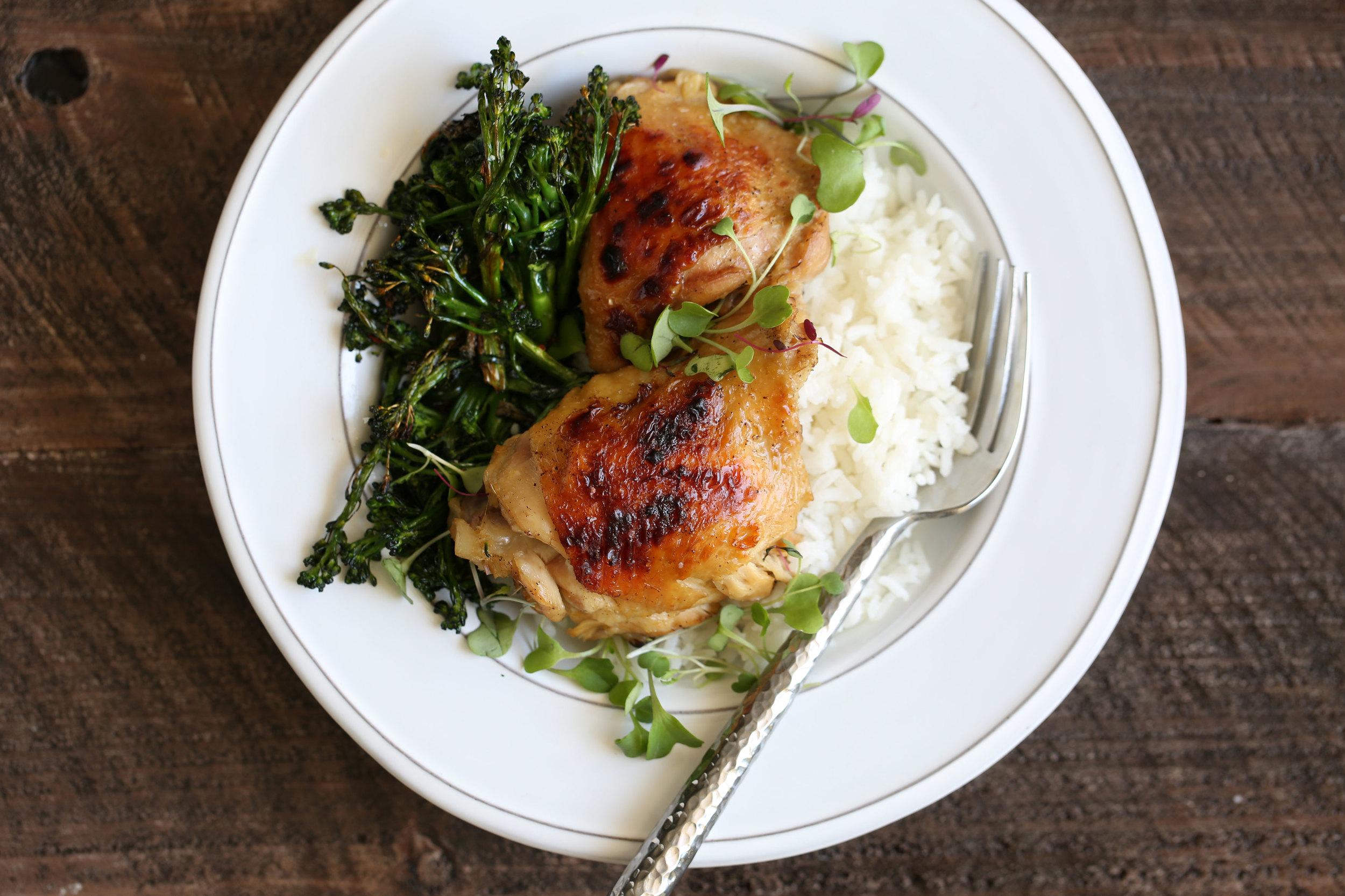 braised lemongrass chicken