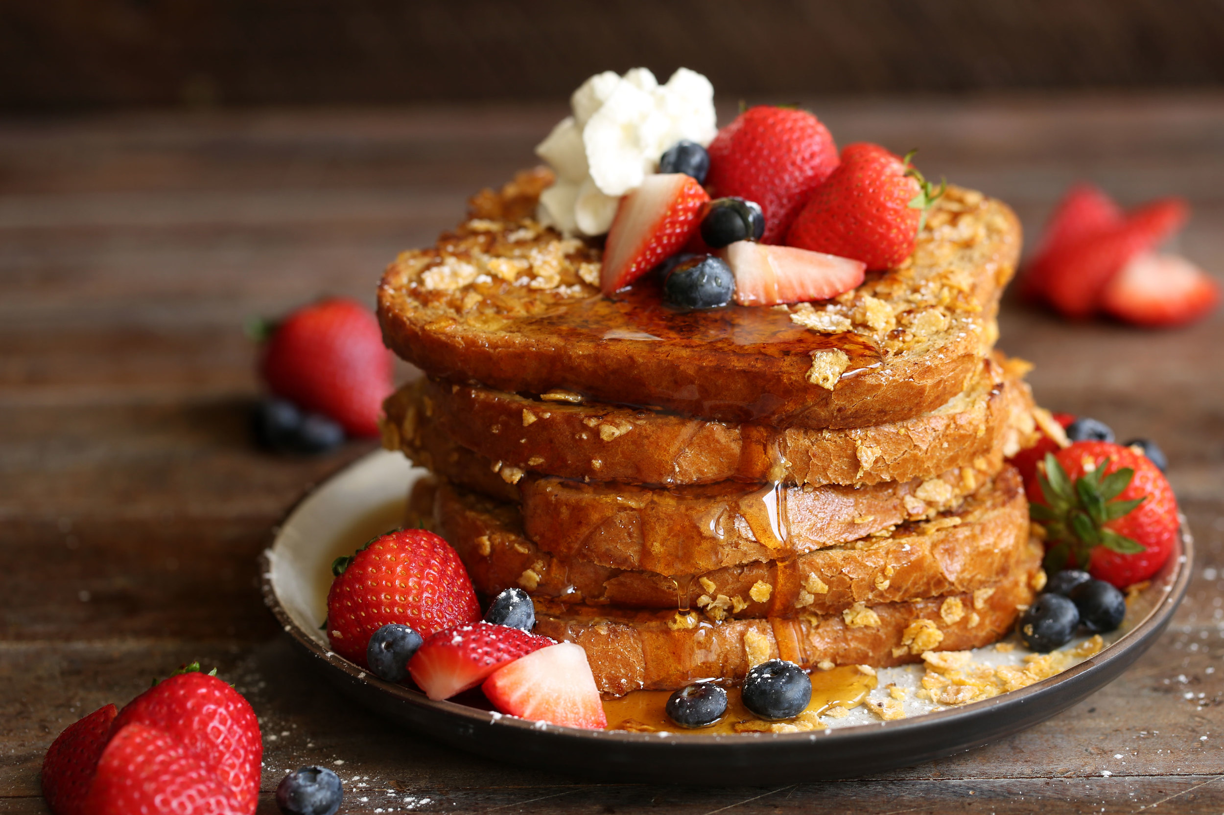corn flake french toast