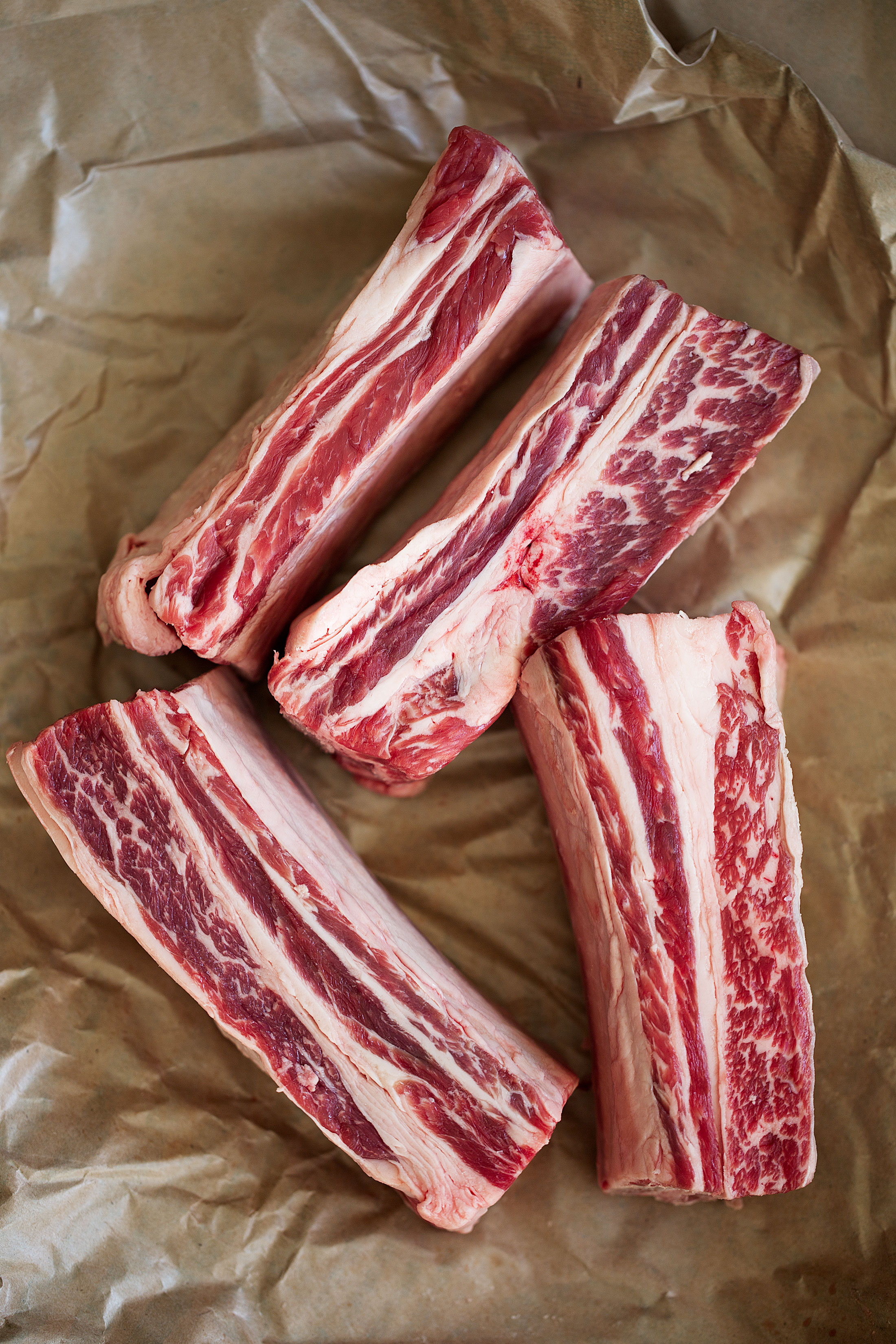 beef short ribs raw
