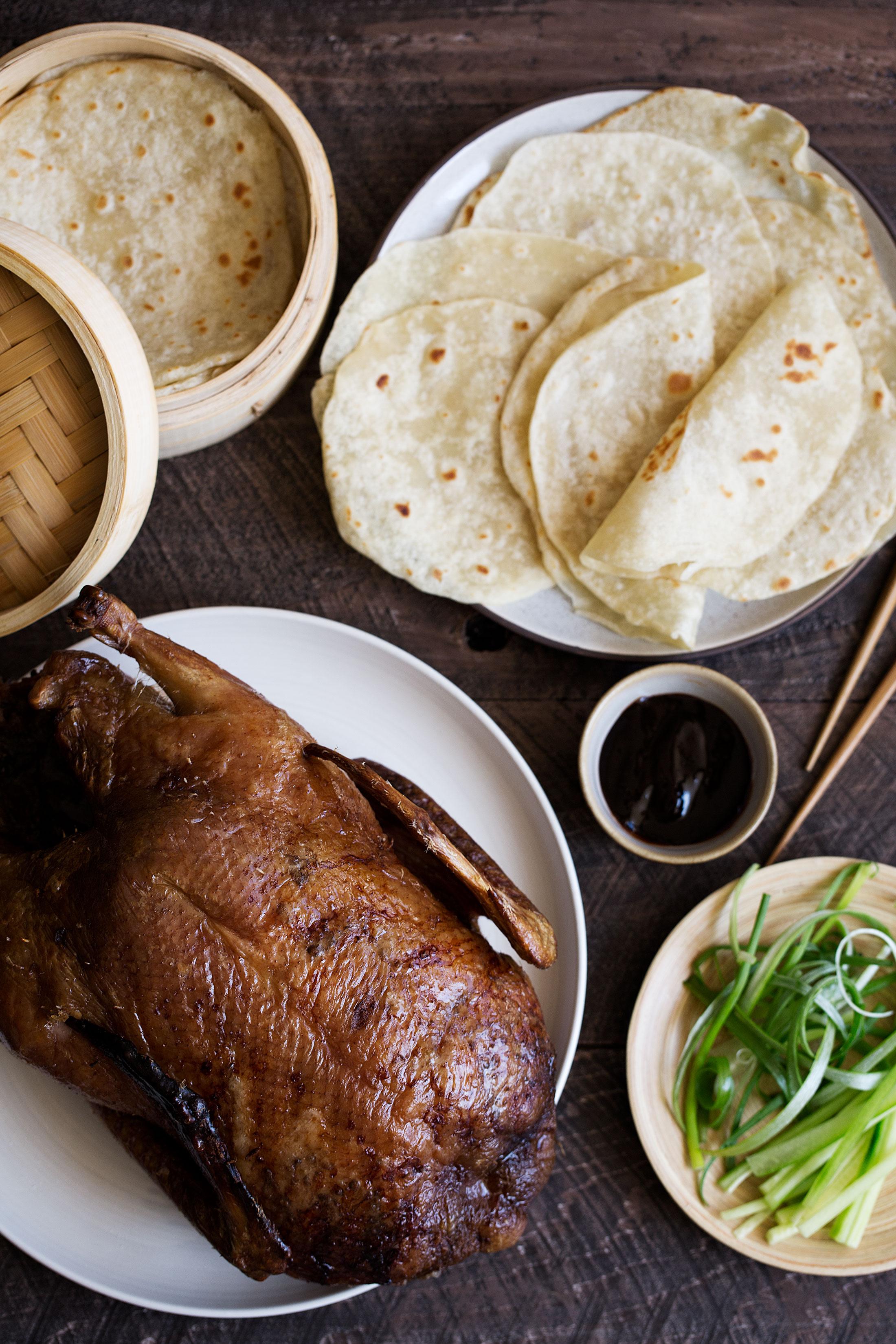 faux peking duck spread