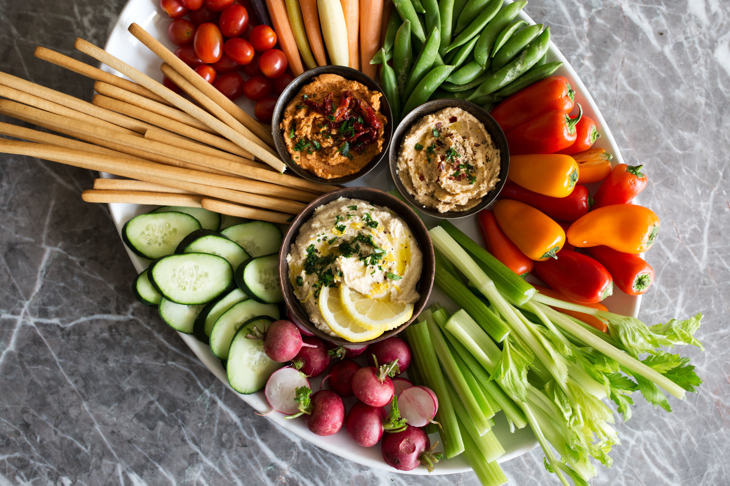 How To Put Together A Mediterranean Crudites Platter Cooking With Cocktail Rings