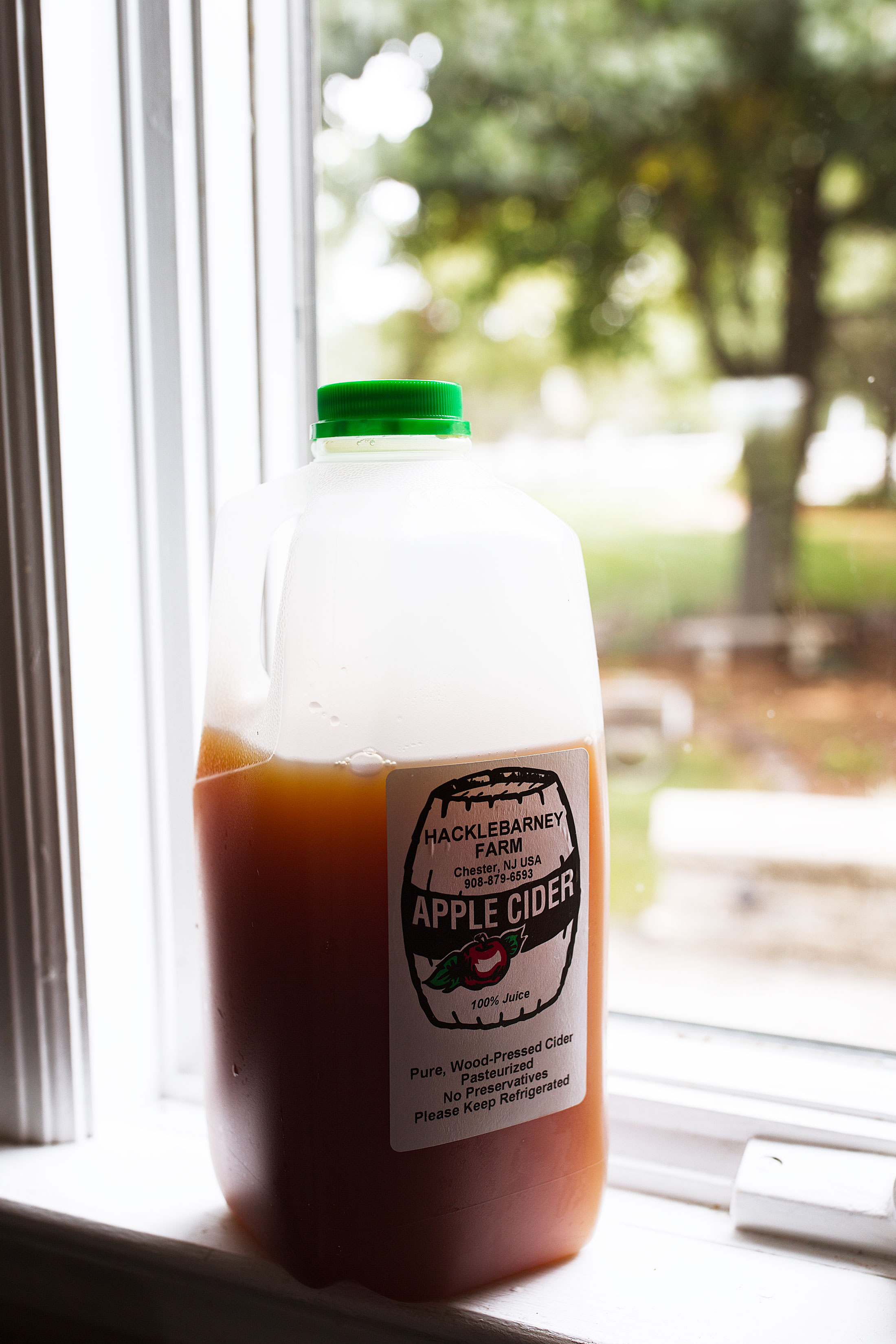apple cider cooking with cocktail rings