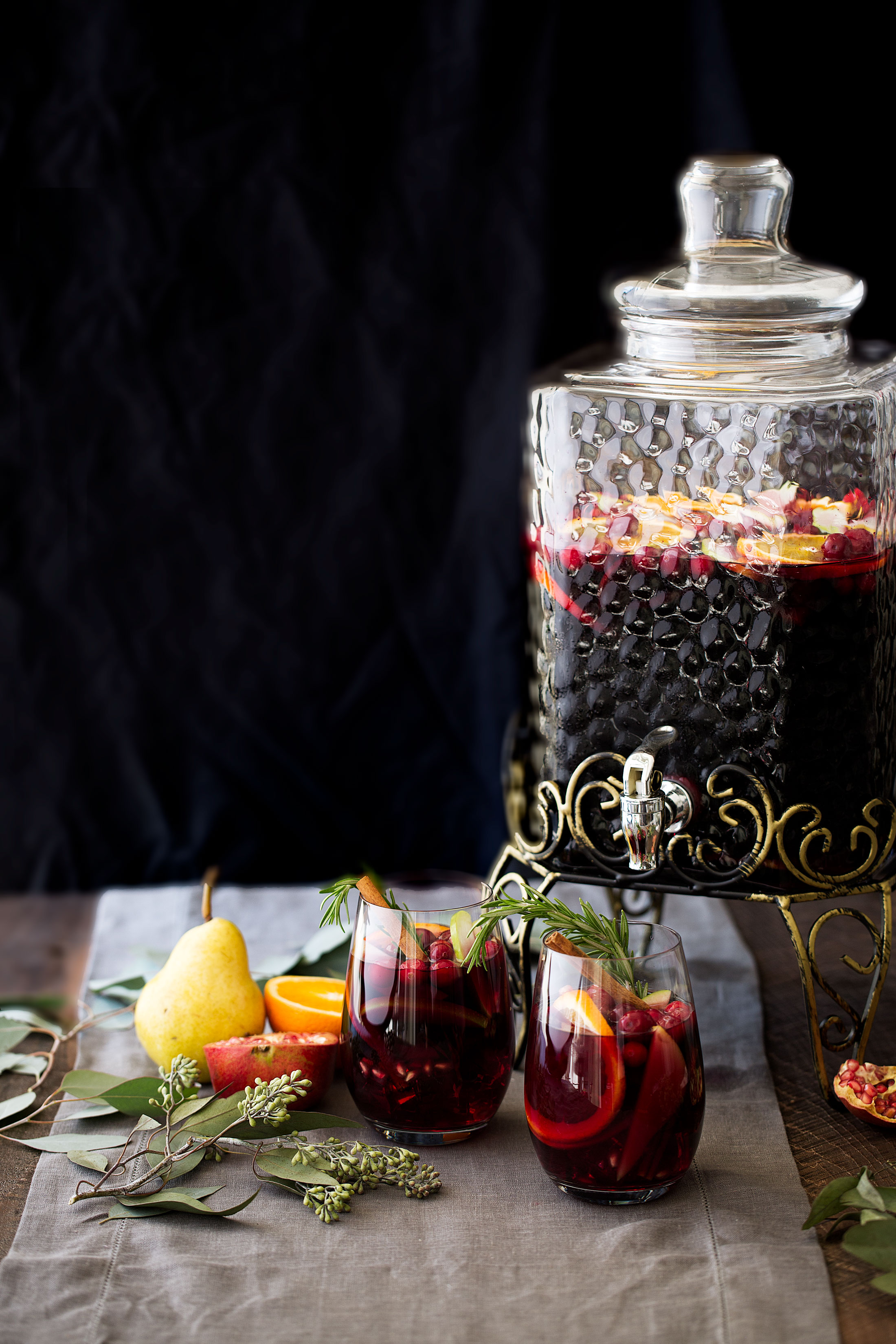 winter red sangria ingredients cooking with cocktail rings home depot