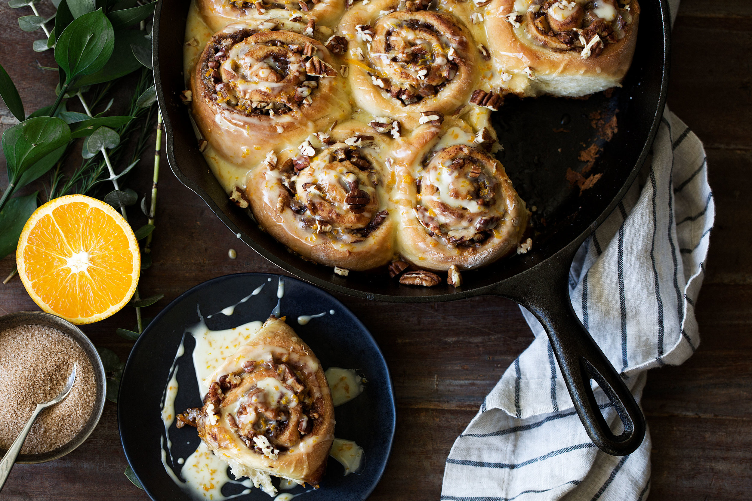 orange pecan sticky buns cooking with cocktail rings diamond nuts