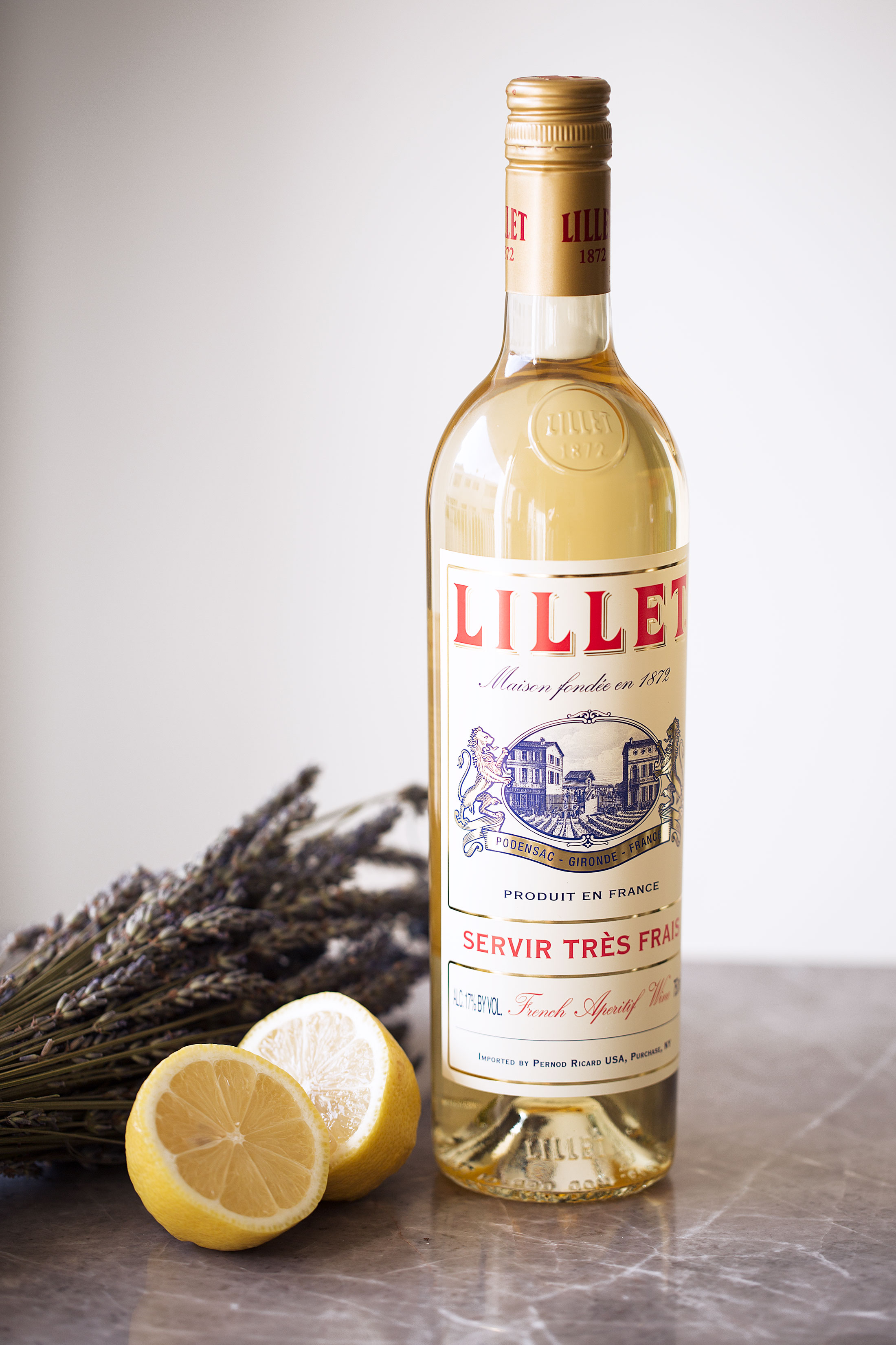 lillet cooking with cocktail rings