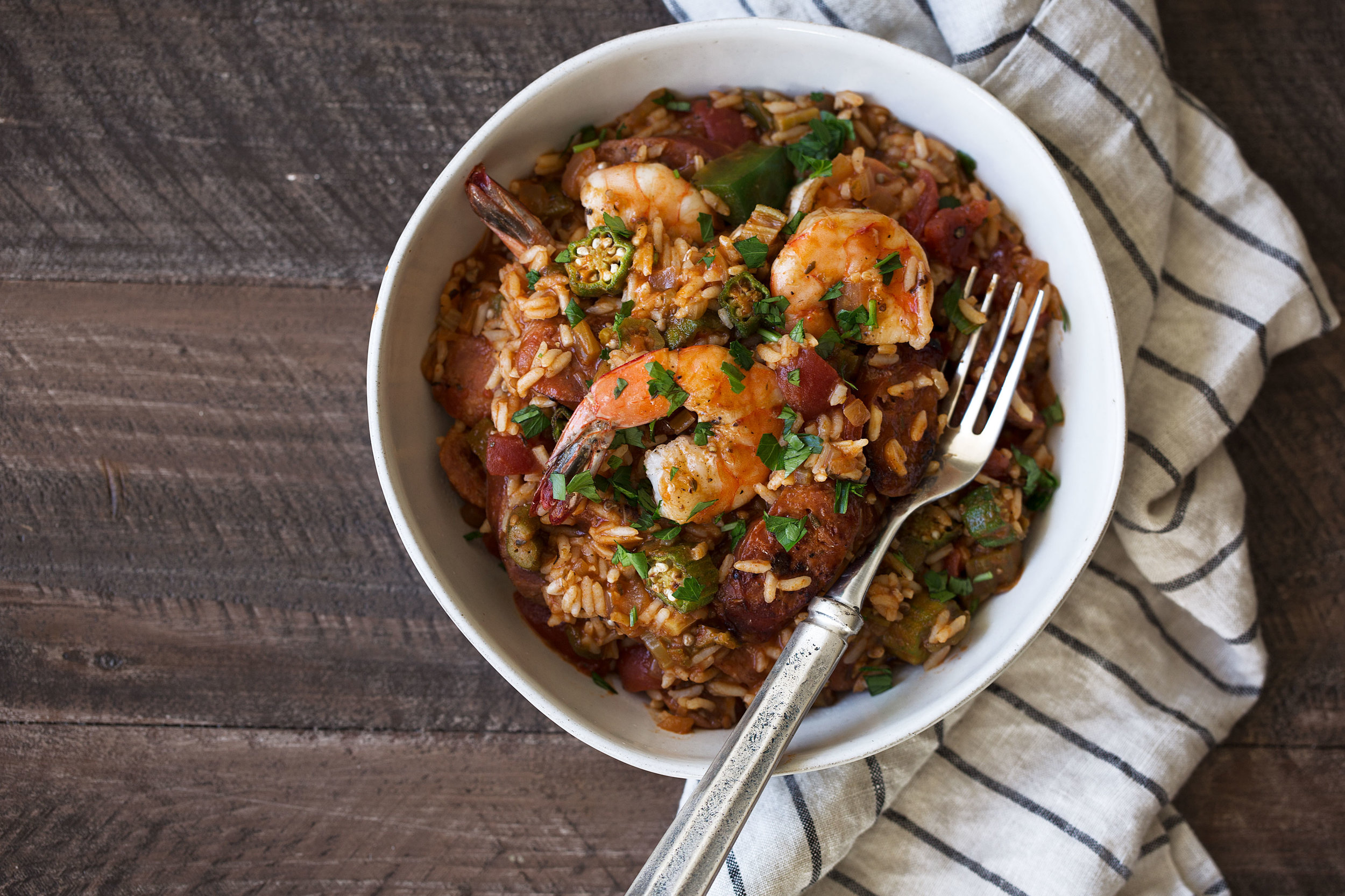 creole jambalaya recipe from cooking with cocktail rings
