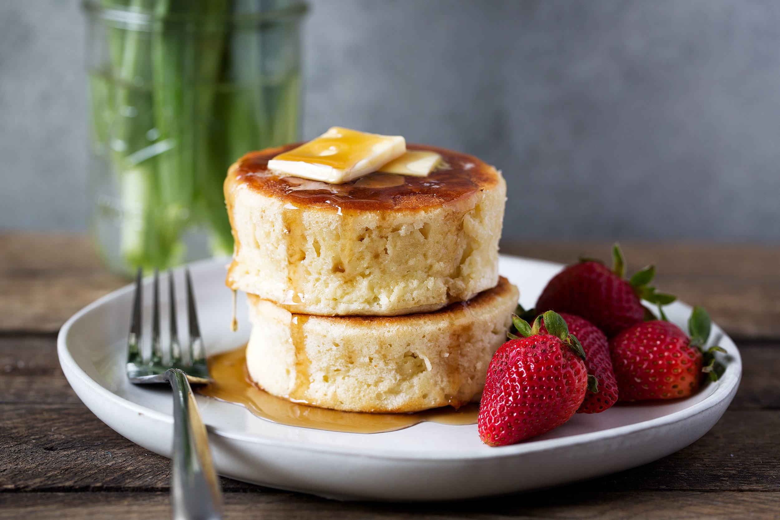 Japanese-style Soufflé Pancakes