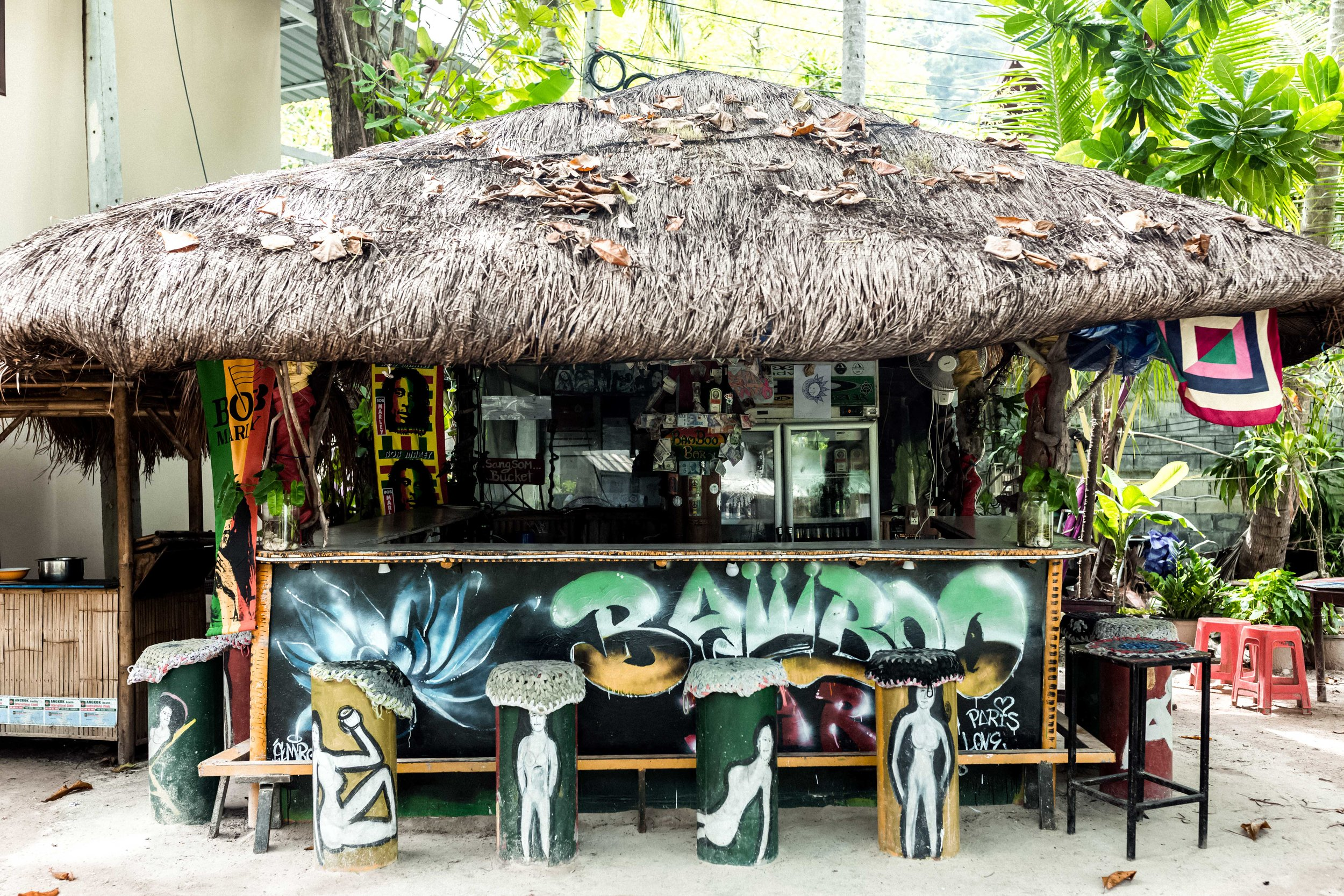 railay beach rasta bar thailand