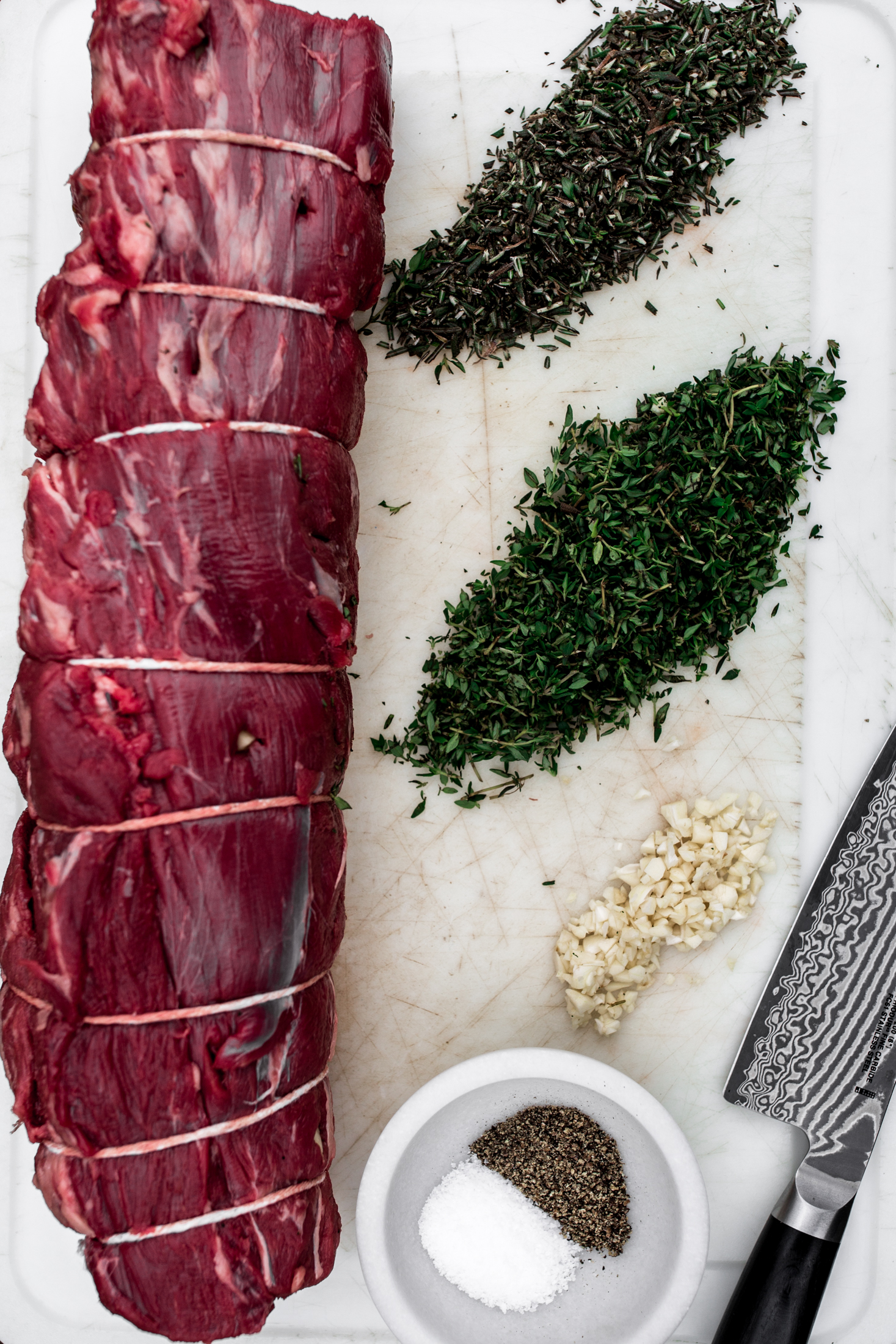 Herb Roast Beef Tenderloin recipe from cooking with cocktail rings ingredients