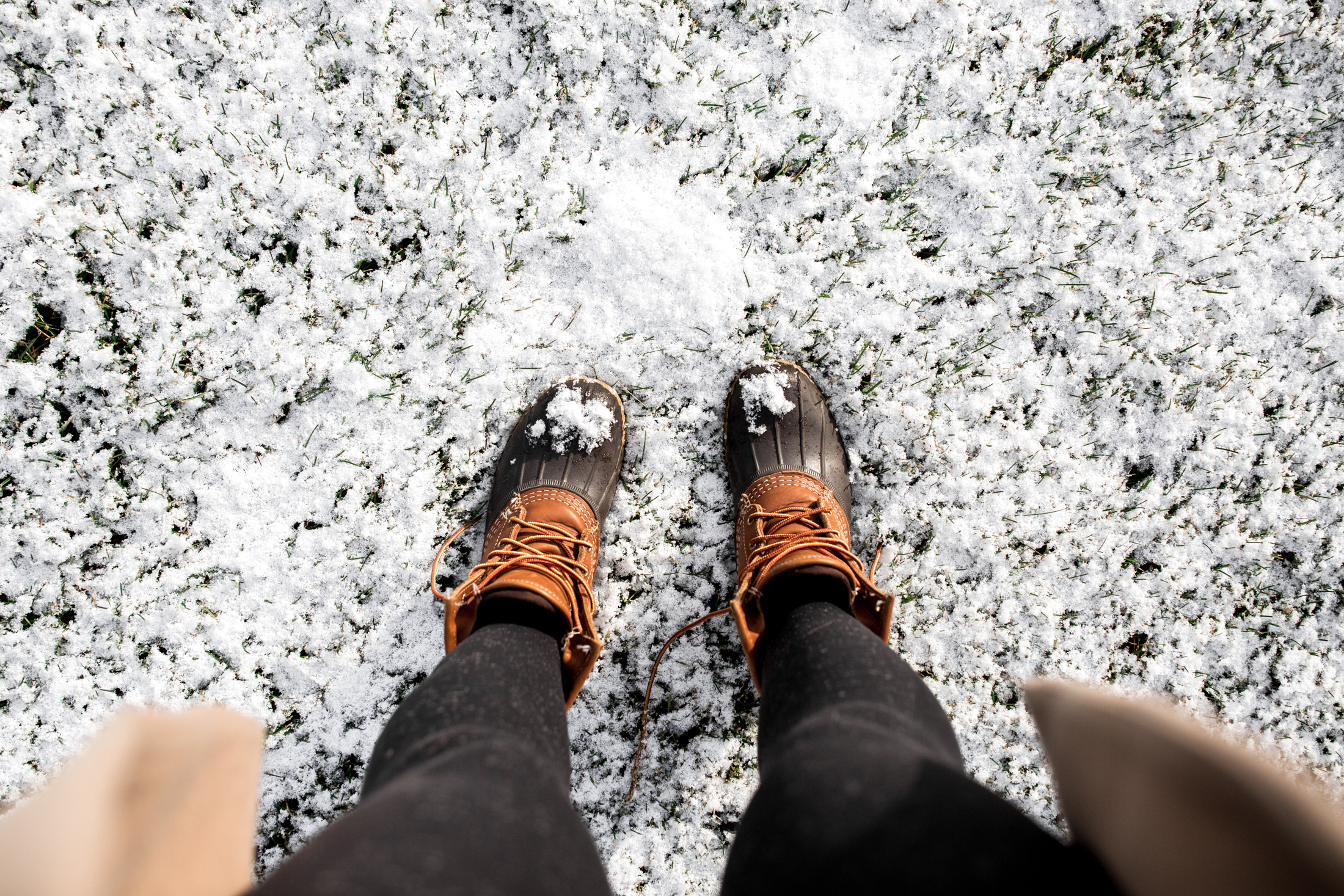 ll bean boots in snow new jersey holidays