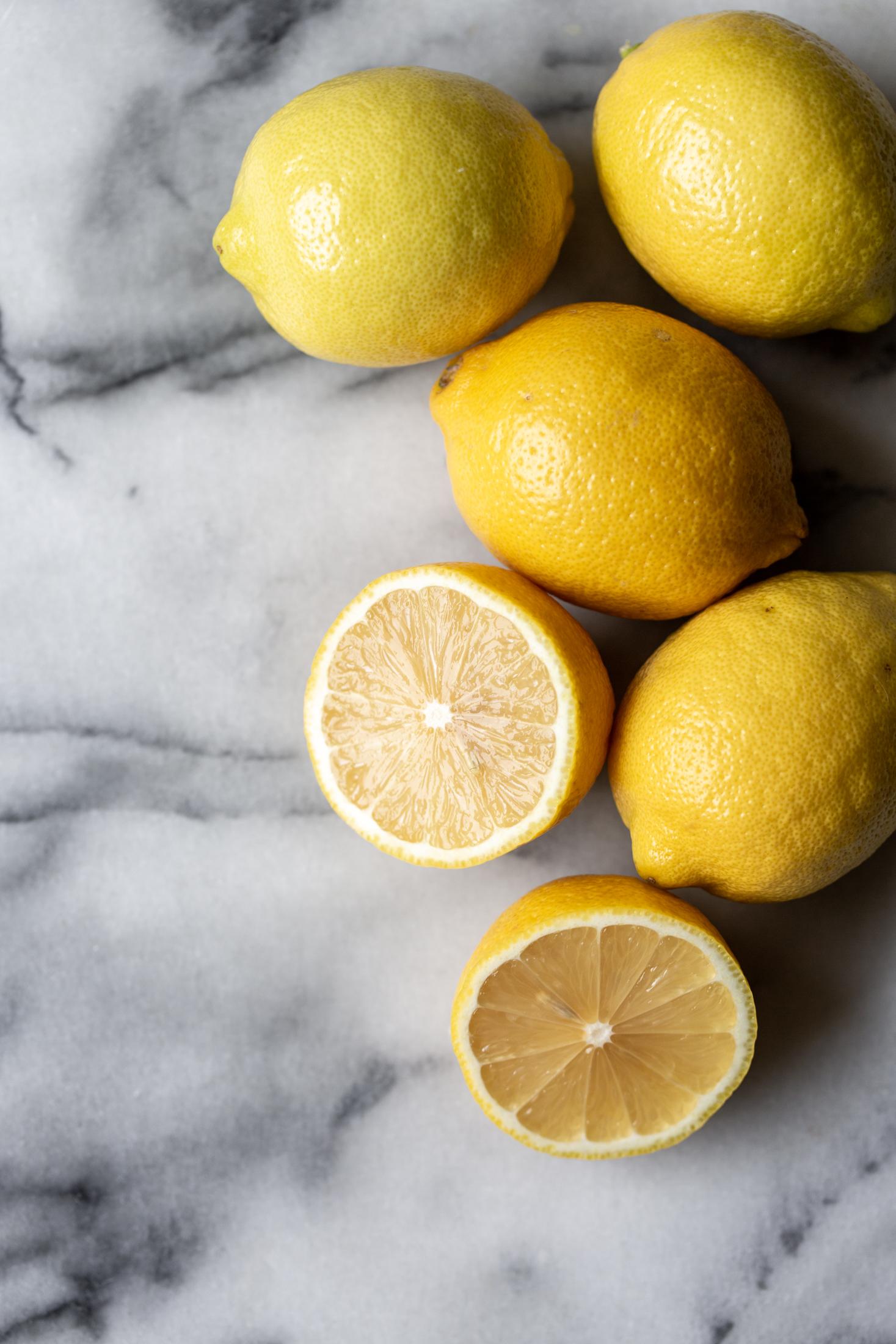 lemons ingredient shot
