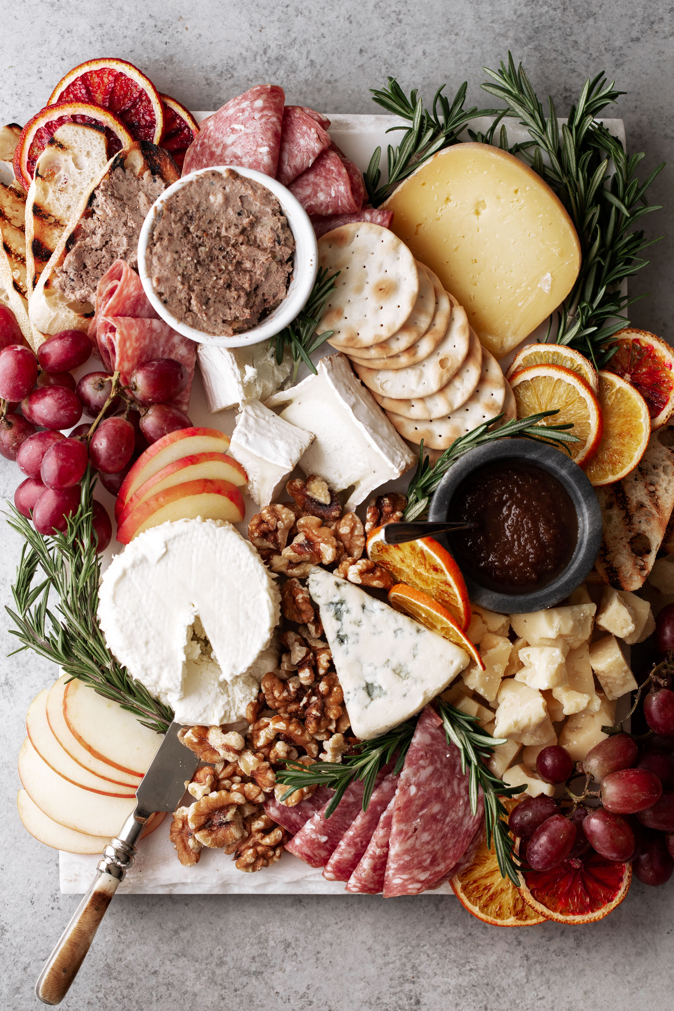 entertaining cheese board example 2