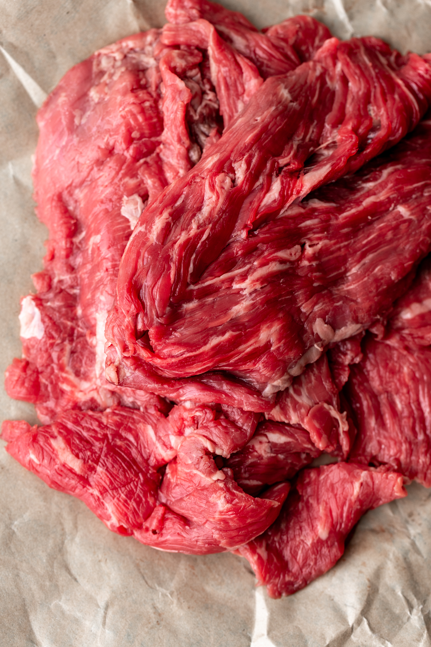 flank steak for mongolian beef