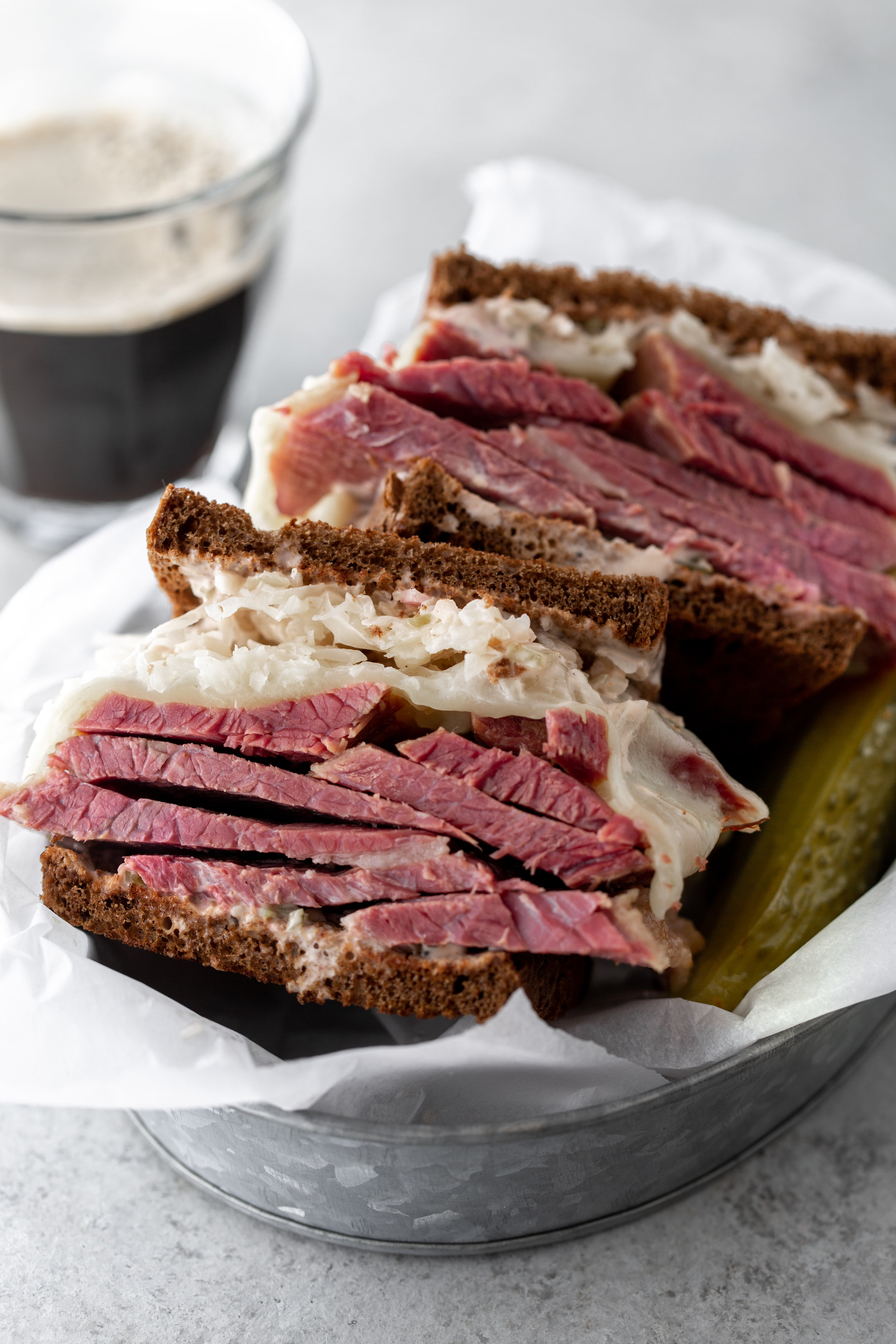 reuben sandwich recipe from cooking with cocktail rings